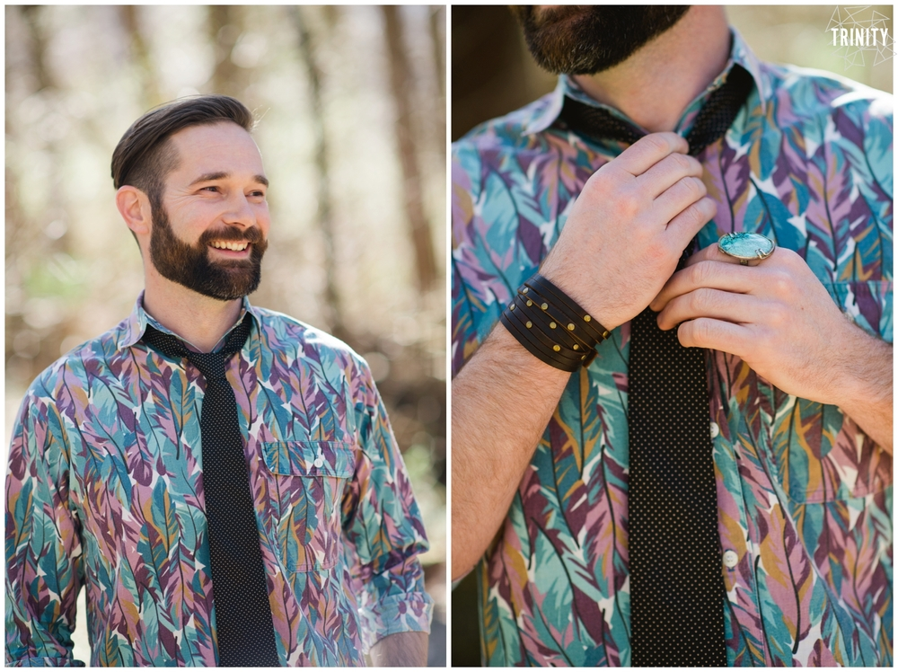 non traditional groom attire wedding