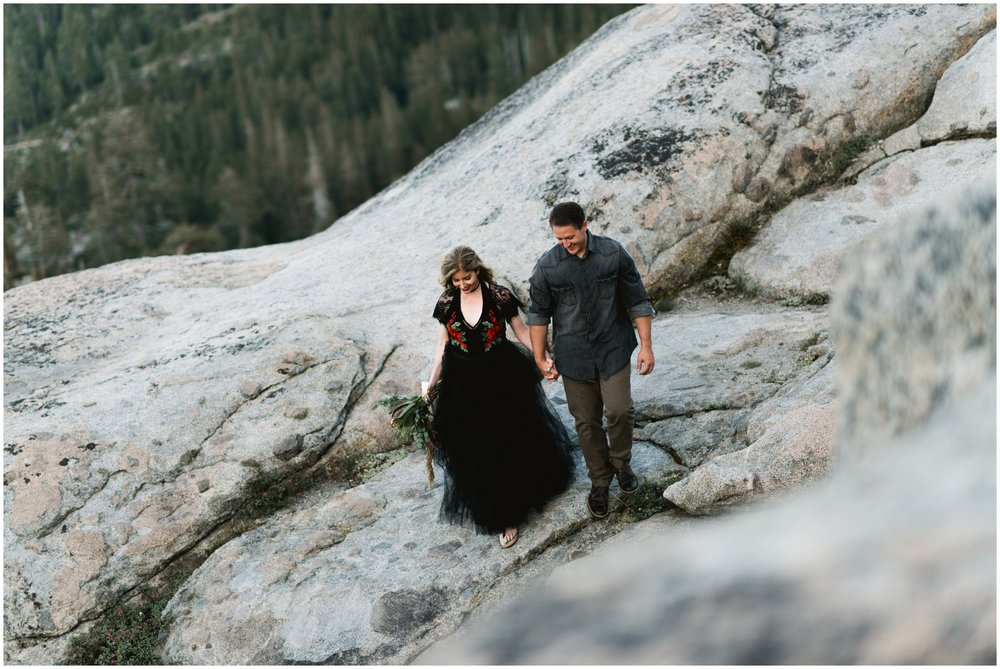 donner summit wedding elopement