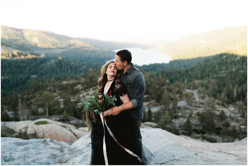 donner lake wedding