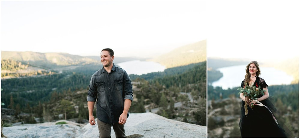donner lake wedding elopement