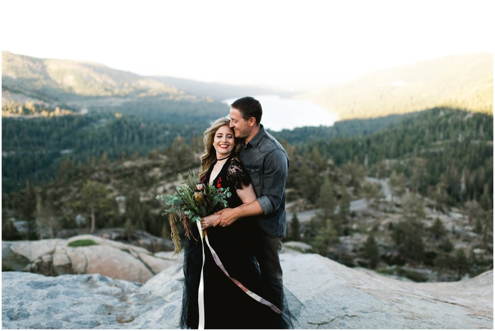 donner lake truckee wedding