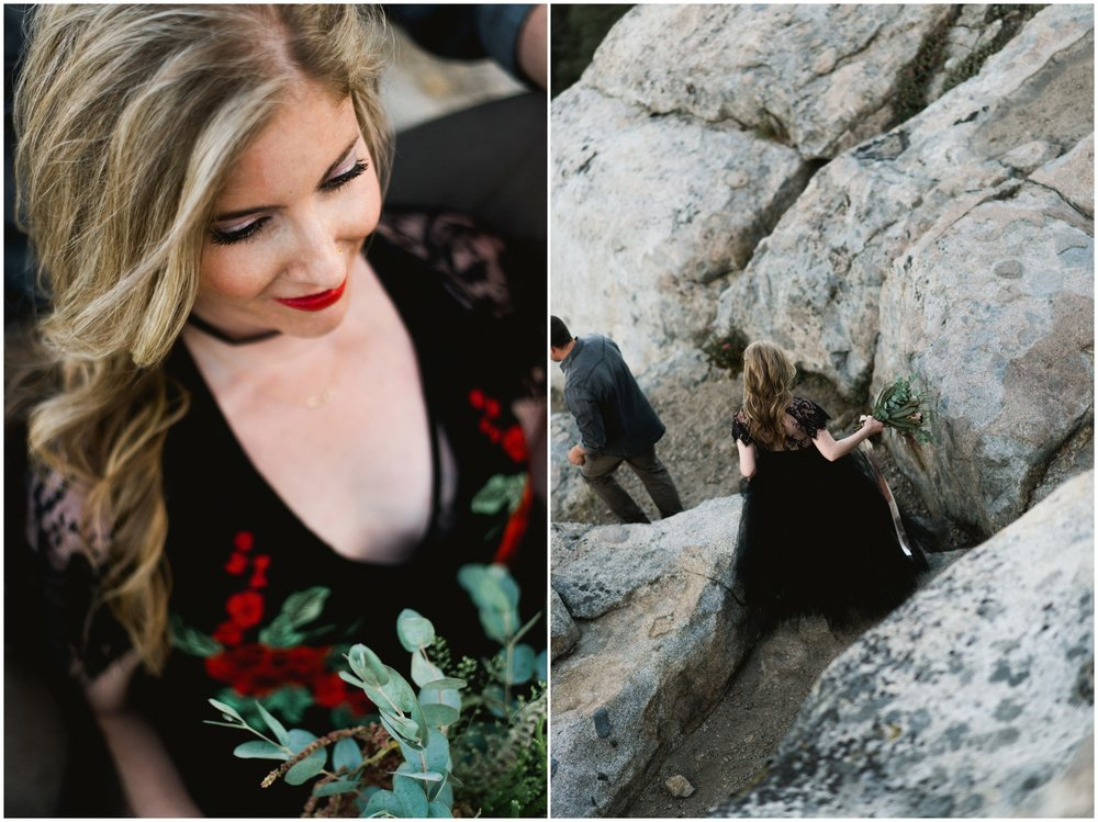 california mountain elopement