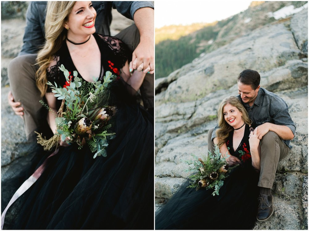 mountain elopement inspiration
