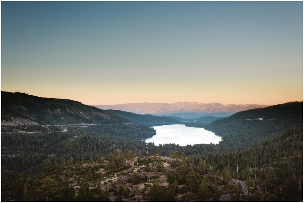 donner pass california