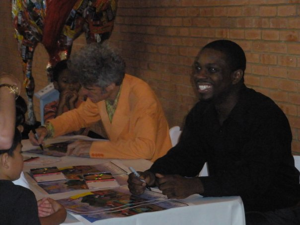 Playhouse Disney's Dan Zanes with Prodigi Arts Principal & Director Chris O'Conner