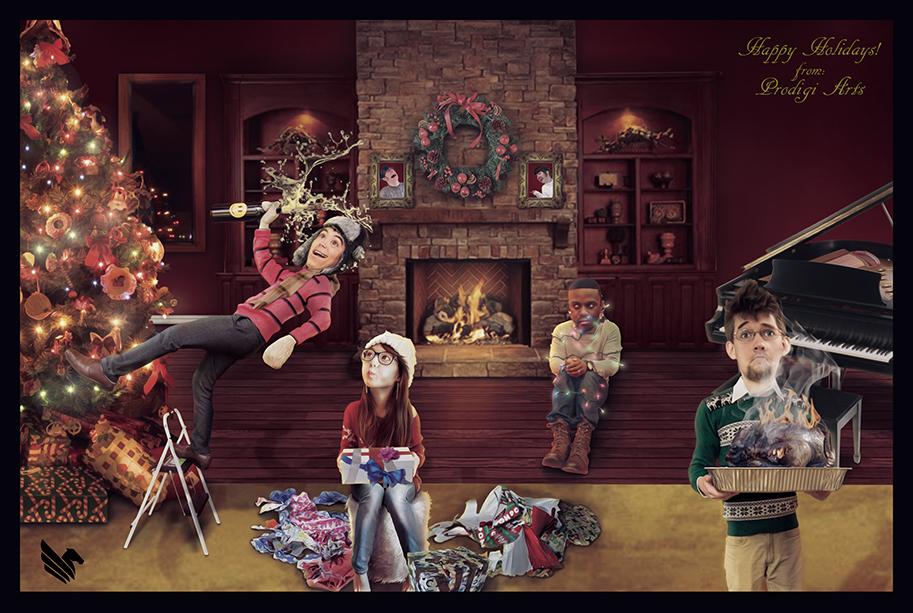 Prodigi Holiday Card 2013