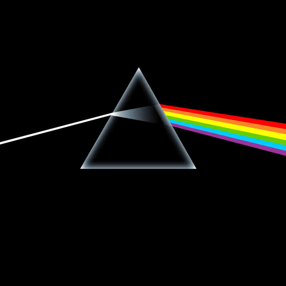 "AN ALBUM AS ETHEREAL AND OUT-OF-THIS-WORLD AS THEIR MUSIC, PINK FLOYD'S ""DARK SIDE OF THE MOON"" USED A MINIMALIST APPROACH IN CREATING THE COVER ART FOR THEIR EIGHTH STUDIO ALBUM. IN CONTRAST TO THE COLORFUL, PORTRAITURE OR ILLUSTRATED STYLE THAT MANY BANDS INCORPORATED THROUGHOUT THE 60S, THIS CONCEPT ART PLAYED WITH THEMES OF SPACE, SCIENCE AND SIMPLICITY. THE RESULT WAS AN ICONIC PIECE THAT HAS GONE DOWN IN HISTORY AS ONE OF THE MOST MEMORABLE COVERS EVER TO GRACE THE MUSIC SCENE."