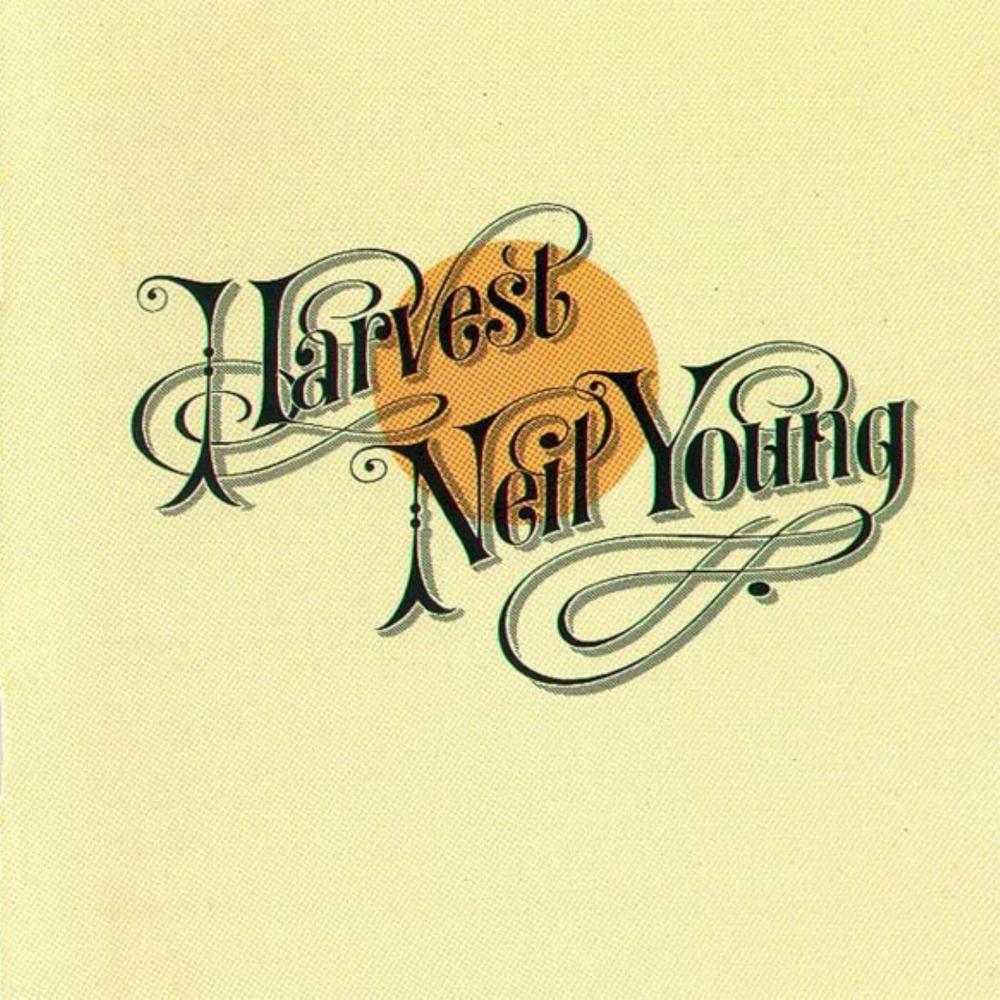 WHILE NOT AS ELABORATE AND COLORFUL AS CONTEMPORARY ALBUM COVERS OF THE DAY, NEIL YOUNG'S 'HARVEST' CERTAINLY KNOWS NO SHORTAGE OF PRAISE. THIS EARLY GENERATION ROCK N' ROLL MASTERPIECE WAS CREATED USING ICONIC TYPOGRAPHY THAT HAS ALWAYS REMAINED RELEVANT IN THE DESIGN WORLD (AND HAS EVEN MORE RECENTLY MADE A  HUGE RESURGENCE IN THE TYPE COMMUNITY ). THE SIMPLICITY AND PLACEMENT OF THE TEXT, ALONG WITH A MINIMALIST BACKGROUND, HAS MADE THIS COVER ONE OF THE MOST WELL-KNOWN PIECES THROUGHOUT THE MUSIC COMMUNITY.