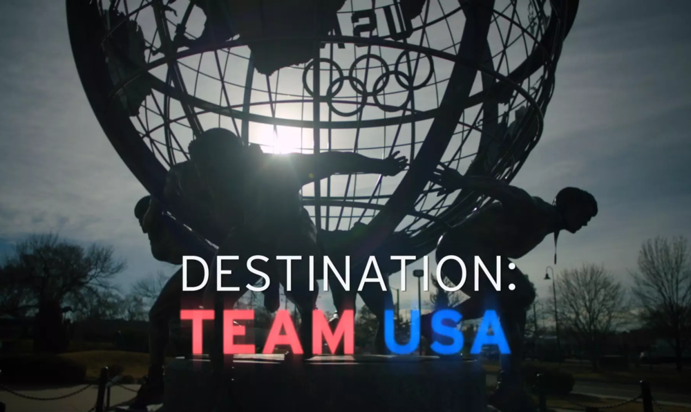 Tribeca Digital Studios and United Airlines  - Destination: Team USA