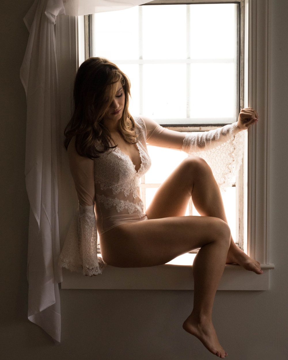 Local Boudoir photographer Jules will give you handcrafted portraits.
