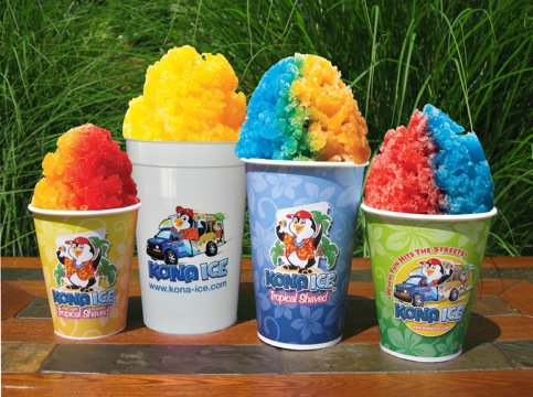 Come enjoy free snowcones from Tucson's Kona Ice Truck!