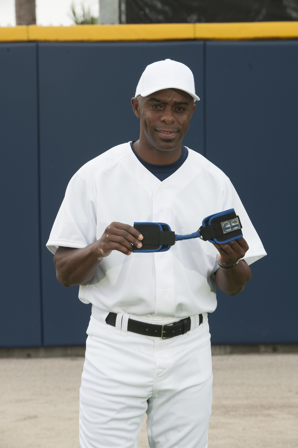 Delino with the Pro Cuffs