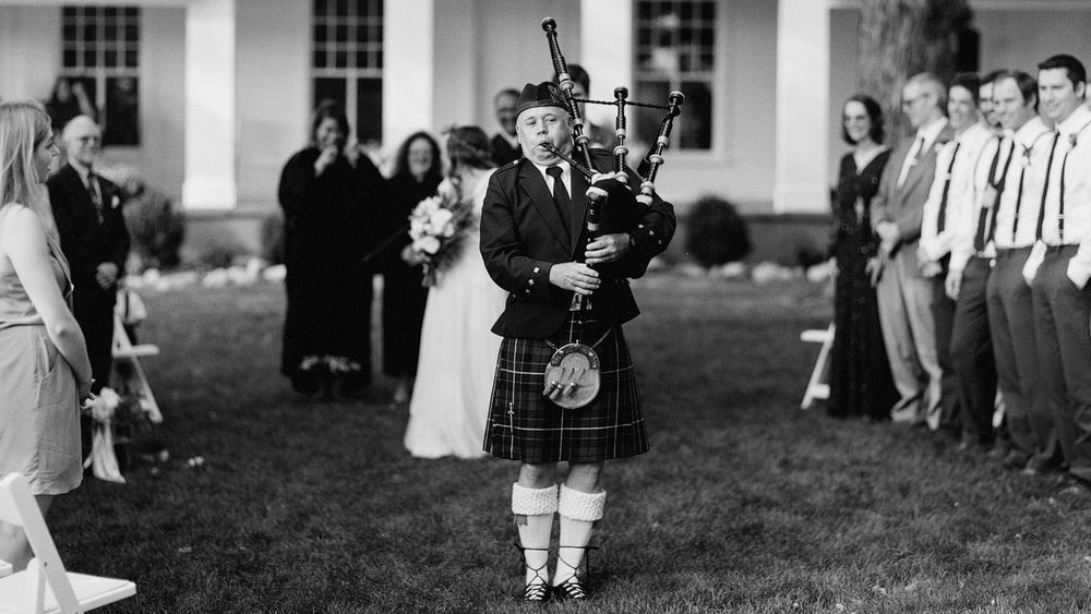 bagpipes wedding michigan ann arbor