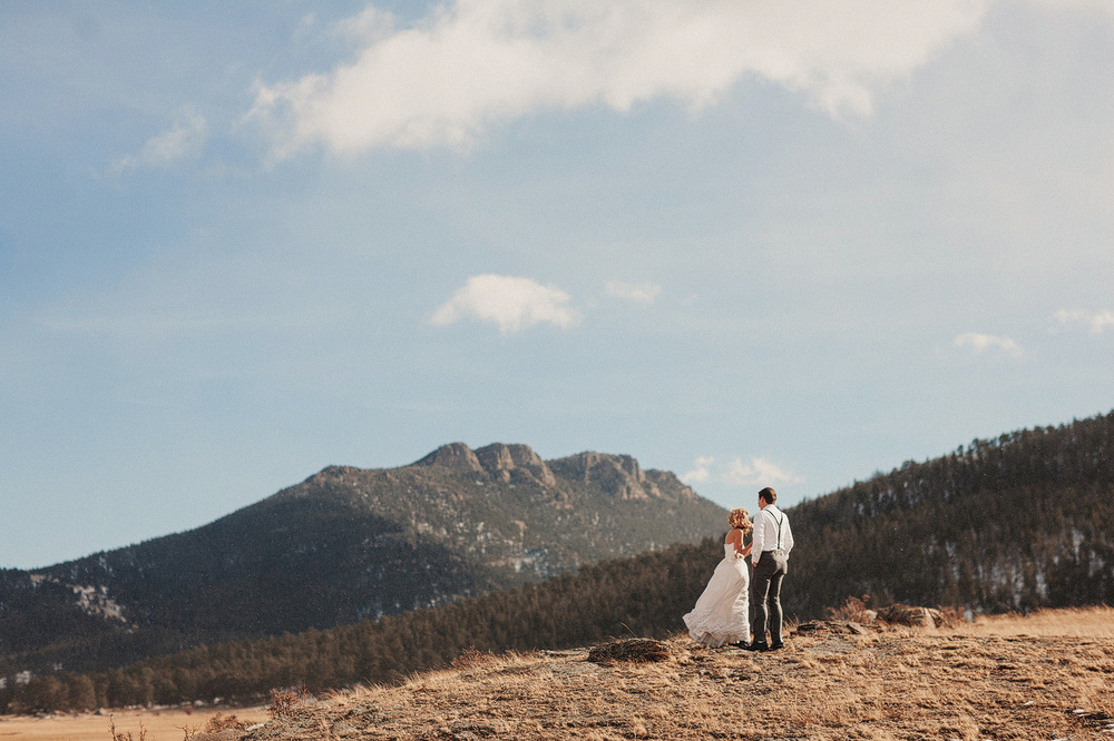 estes park elopement photographer rocky mountains