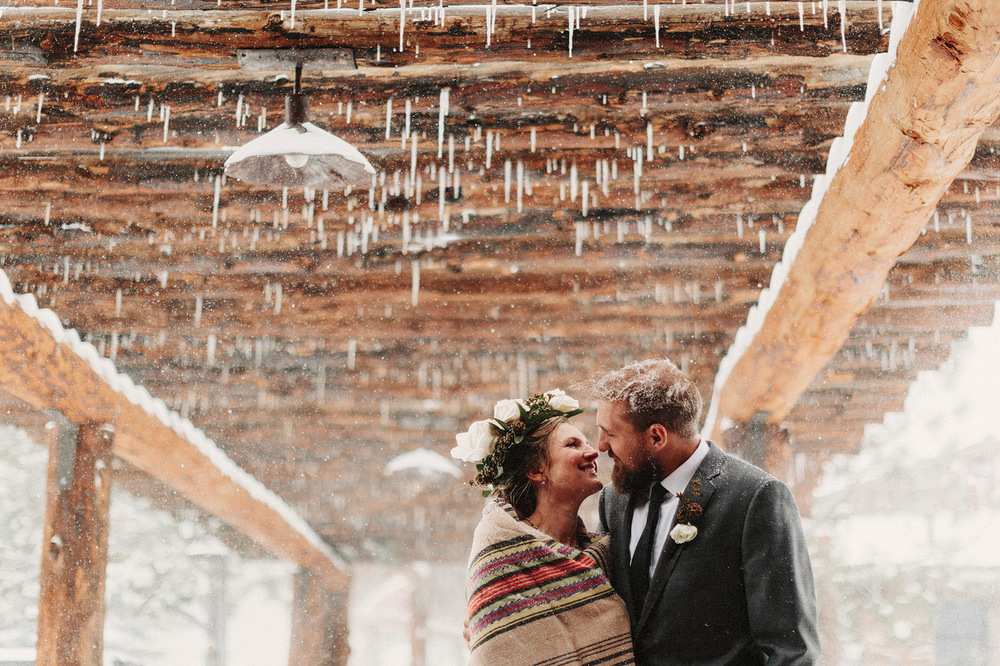 rocky mountain snowy icy wedding photographer rocky mountains