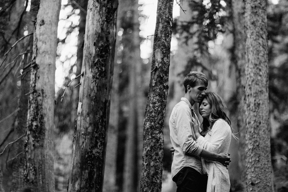 estes park colorado couple portrait intimate