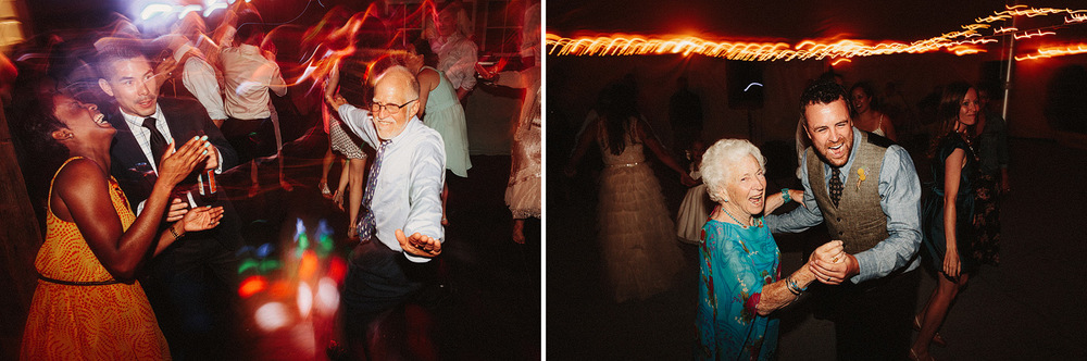 creative wedding dancing fun party