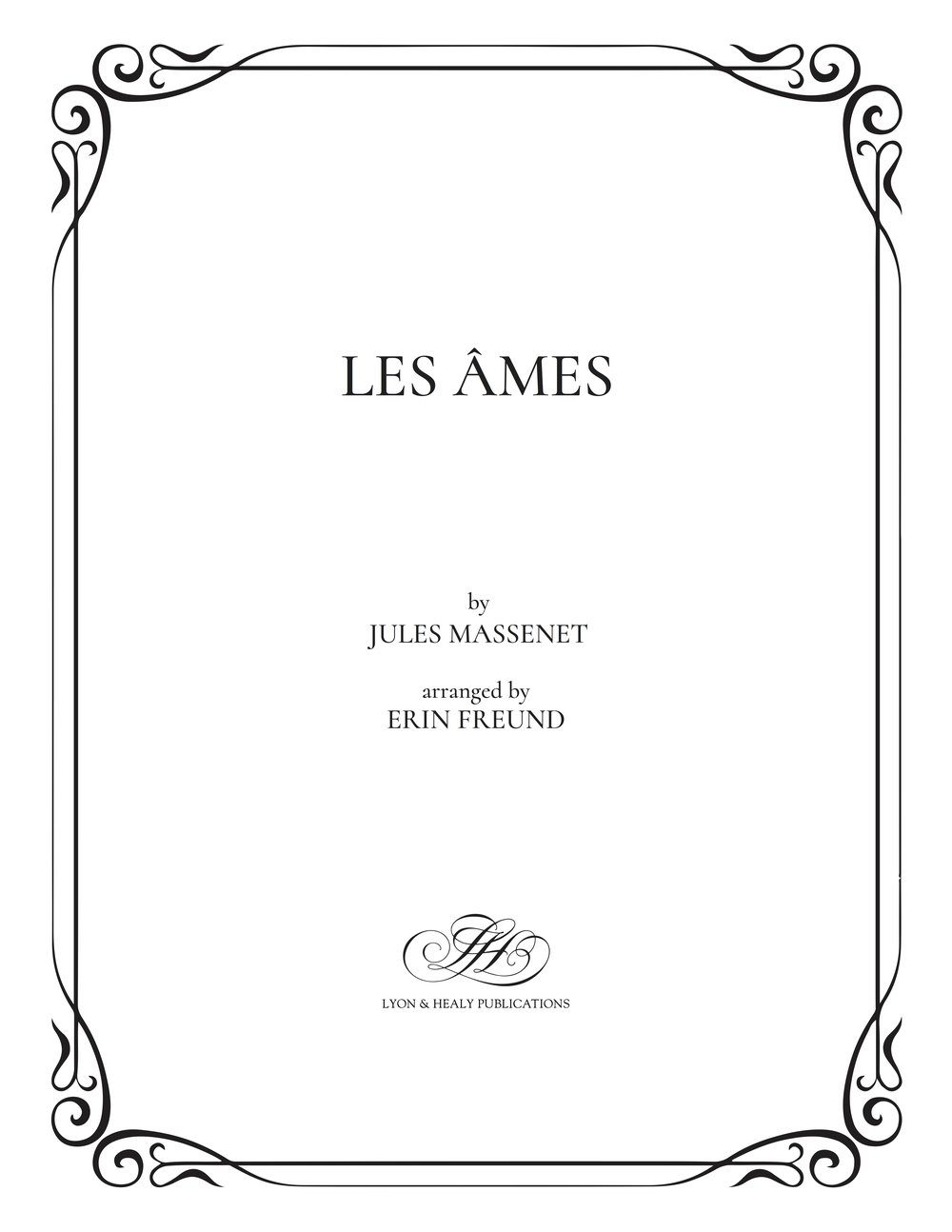 Les Âmes - Massenet-Freund cover.jpg