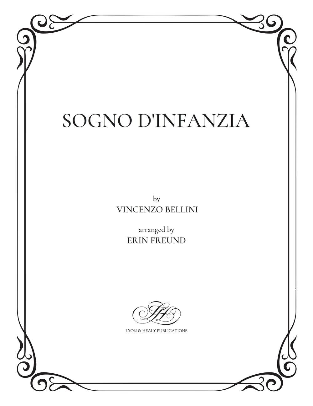 Sogno d'infanzia - Bellini-Freund cover.jpg