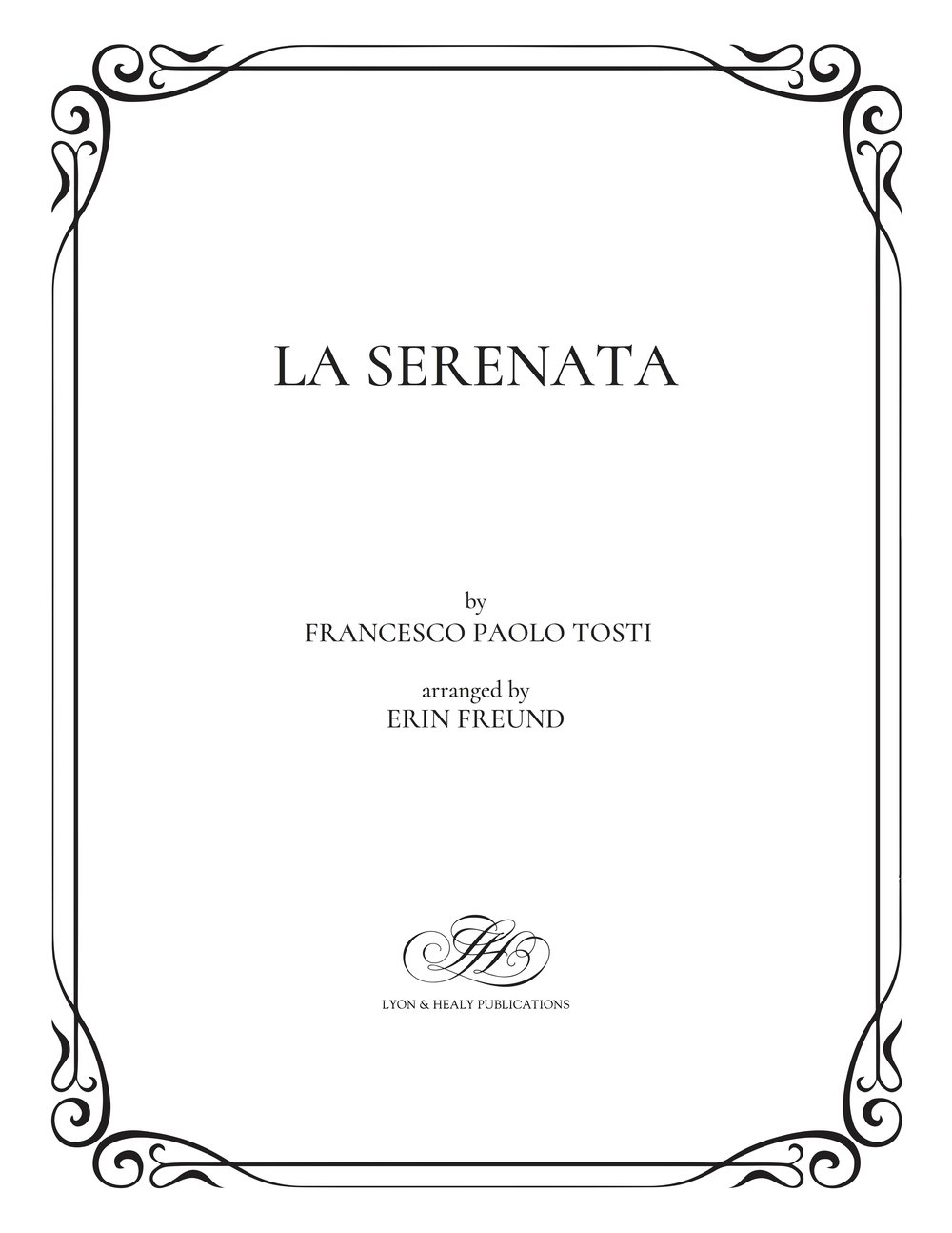 La Serenata - Tosti-Freund cover.jpg