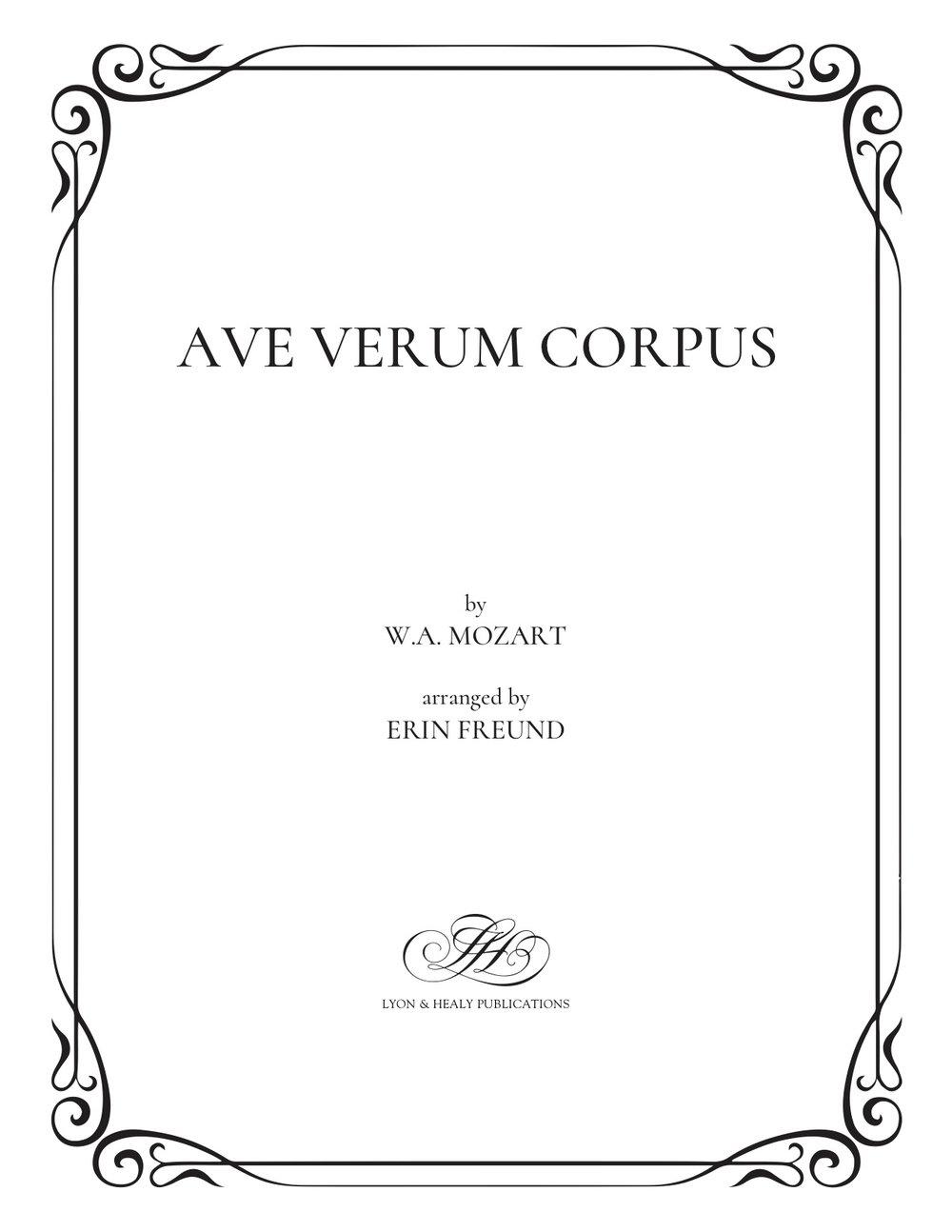 Ave Verum Corpus cover.jpg