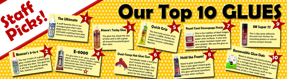 Our top 10 glues sign.jpg