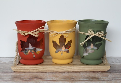 Chalky Paint Tealight Holders Ben Franklin Crafts Frames
