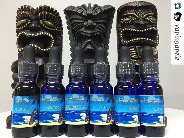 #Repost @vapingapeie  They may not look like it, but our tikis are super stoked that Blue Hawaiian is back in stock! All 6 juices are amazing fruit blends with fantastic flavors! Come down tonight and try them out! #vapecommunity #vapecloud #bluehawaiianartisan #vapeohana #ohana #westcoastvaper #vape #vapelyfe  #vapelikeaboss #vaping #vapor #california #socalvaper #supporttheMovement #vapestegram #vapefam #vapeporn  #vapeshop #calivapers #instafollow  #vapepics #ejuice #vapedaily #vapegram #handcheck #screw #tobacco #company #ashfree