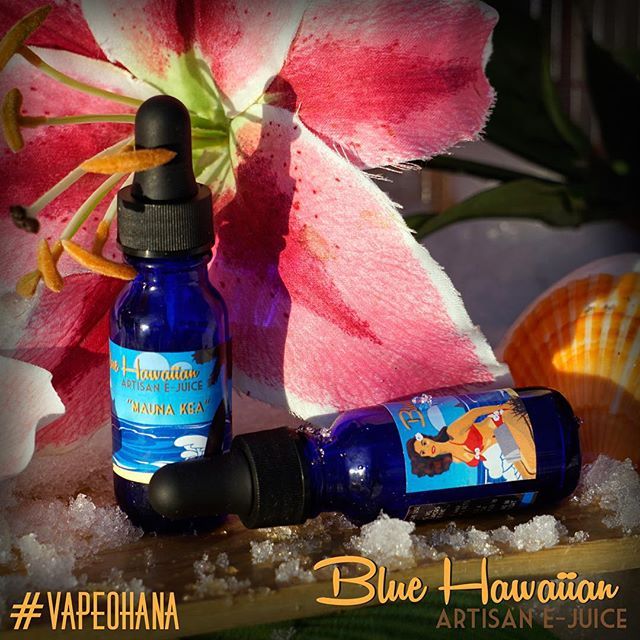 Mauna Kea – From the top of the highest point in Hawaii, Mauna Kea delivers a cool, spearmint breeze to your tropical getaway. *A great mixer with any of our other flavors or a solo all day vape* #bluehawaiianartisan #vapeohana #ohana #westcoastvaper #vape  #vapelikeaboss #vaping #vapor #california #socalvaper #supportthemovement #vapefam #vapeporn  #vapeshop #calivapers #instafollow  #vapepics #ejuice #vapedaily #vapegram #handcheck #screw #tobacco #company #ashfree #unitedvapers #vapelyfe #vapecommunity #vapeclouds