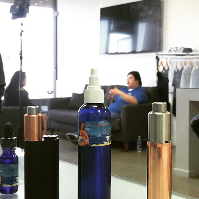 Our very own being interviewed by @abc7denise, promoting a healthier lifestyle! Stay tuned for the news segment next month. #bluehawaiianartisan #VapeOhana #news #vape #vapeporn #vapelife #vapecommunity #socalvapers #vaping #instavape #vapehooligans #vapelyfe #mods #vapedaily #vapefam #vapeon #mod #vapestagram #vaper #vapor