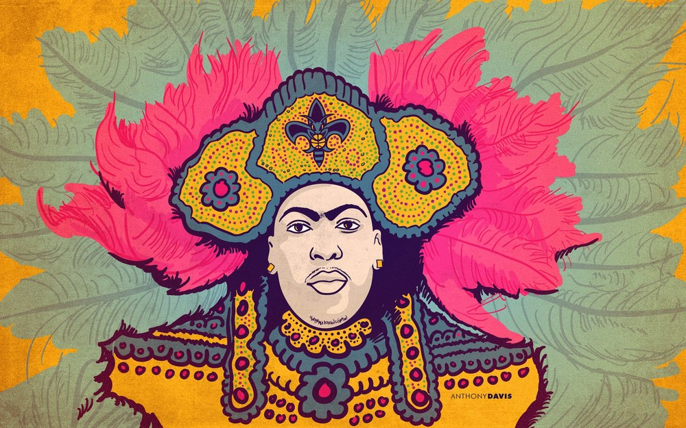 Anthony Davis / Mardi Gras Indian