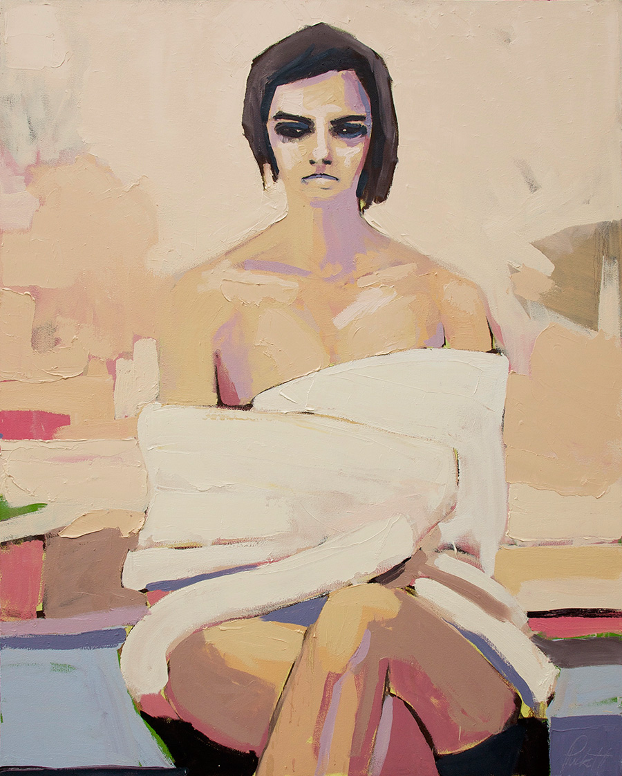 Figure with Towel