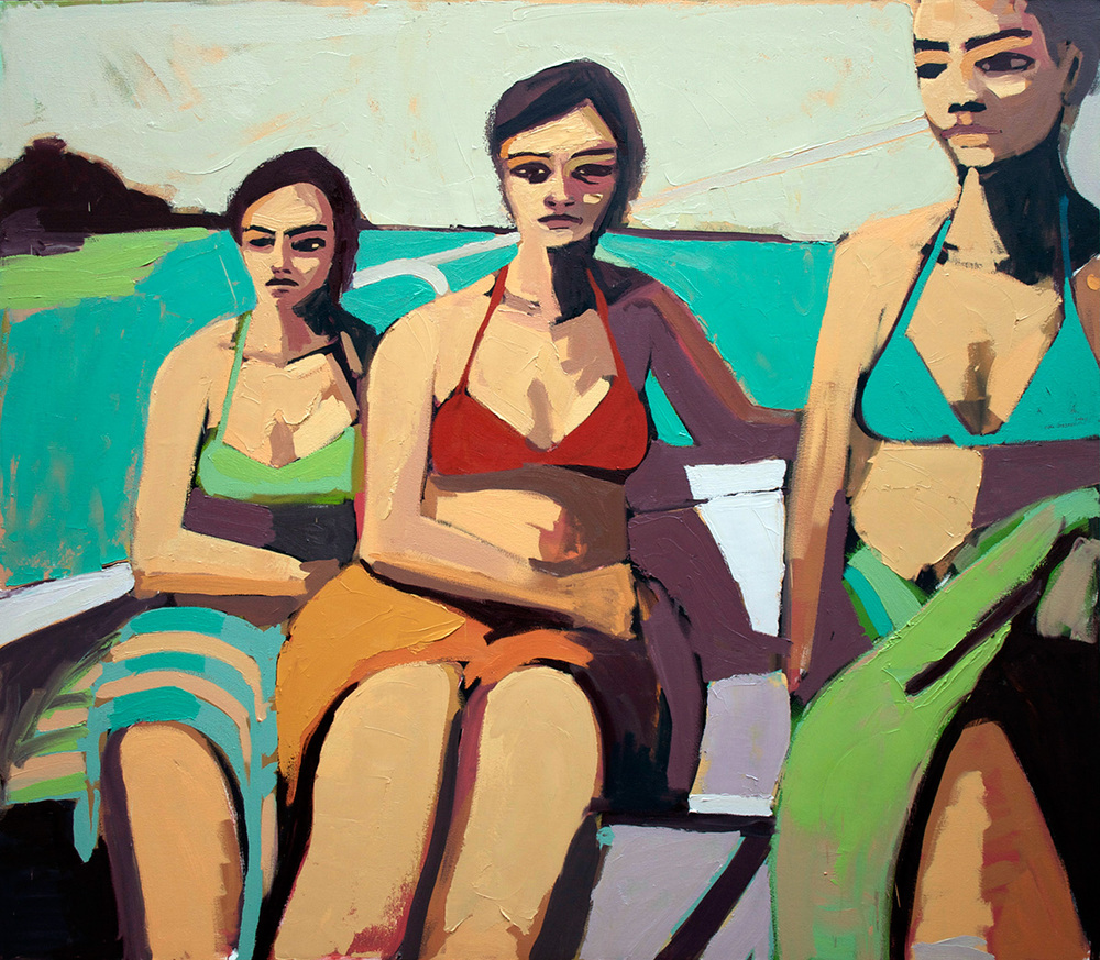 Women on a Sailboat