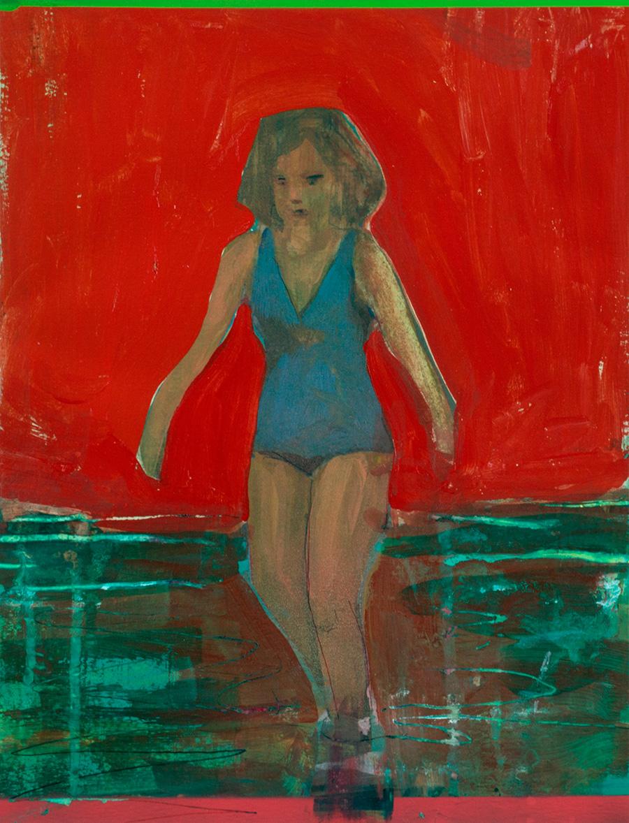 Wading Woman