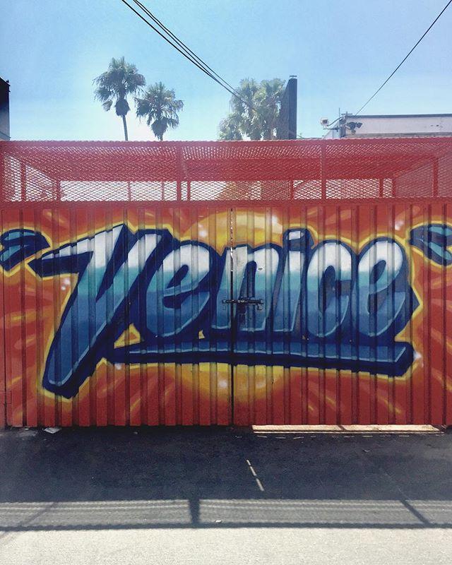 Venice — Beach you to it.