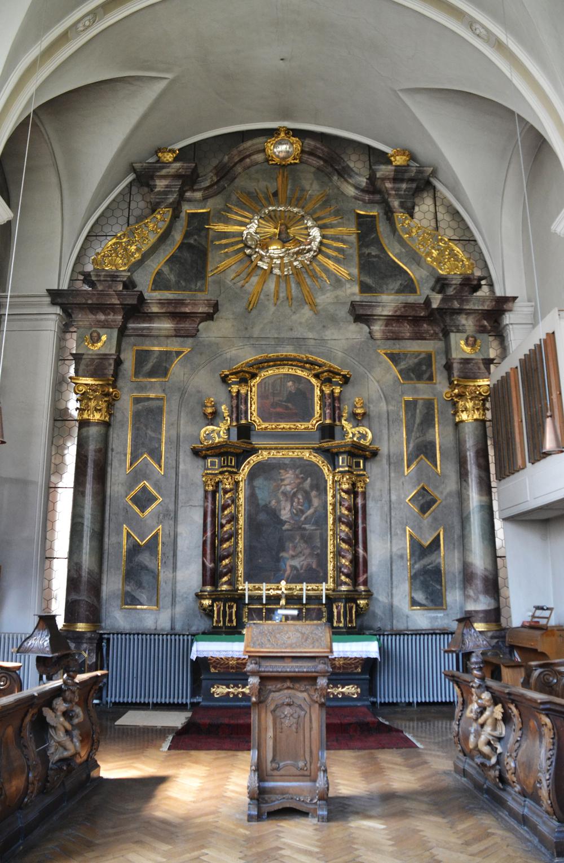 Metten Abbey Choir Chapel