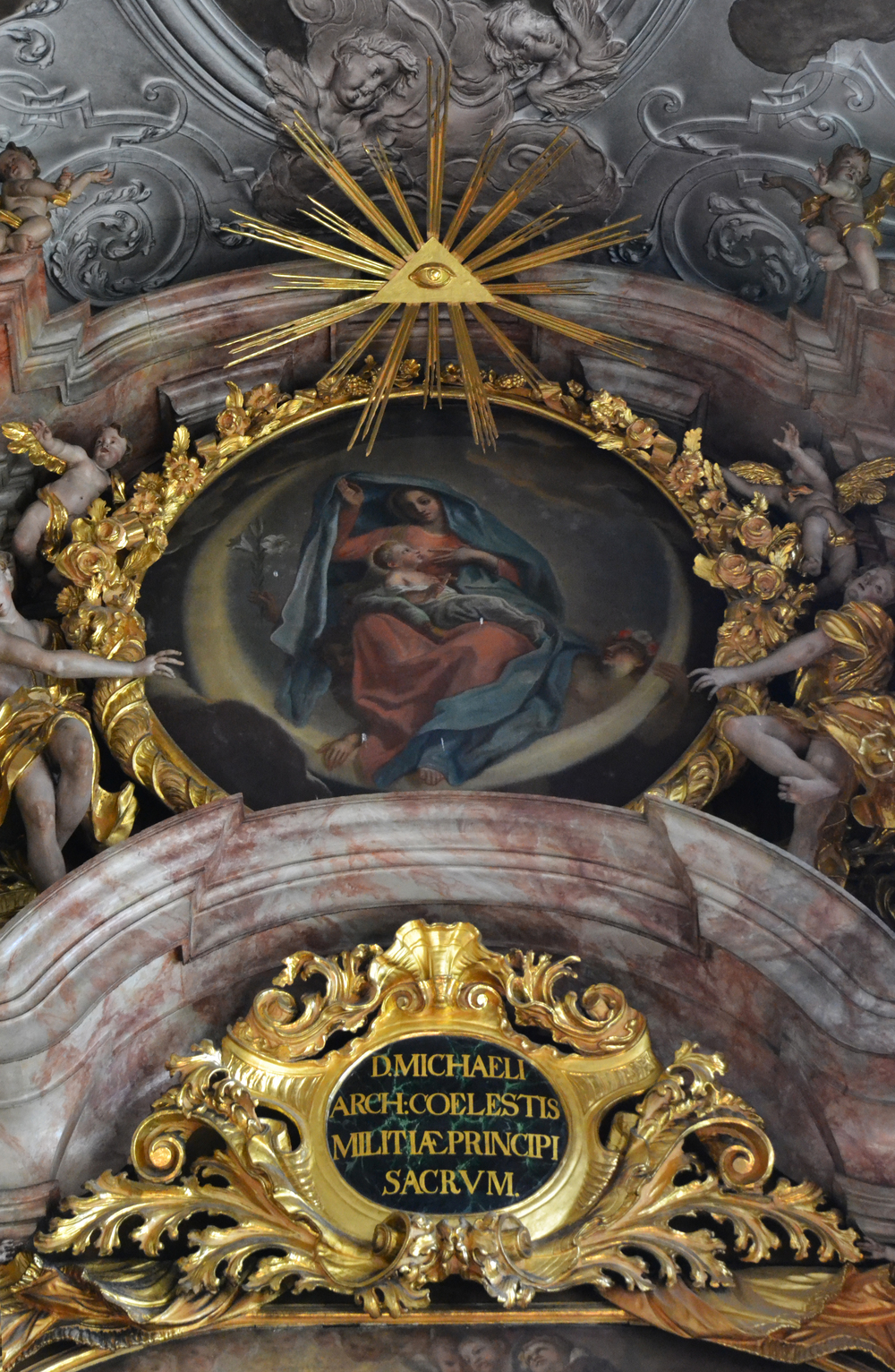 Metten Abbey Church, High Altar Reredos