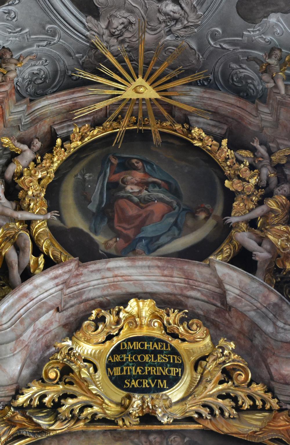 Metten Abbey Church, High Altar Reredos