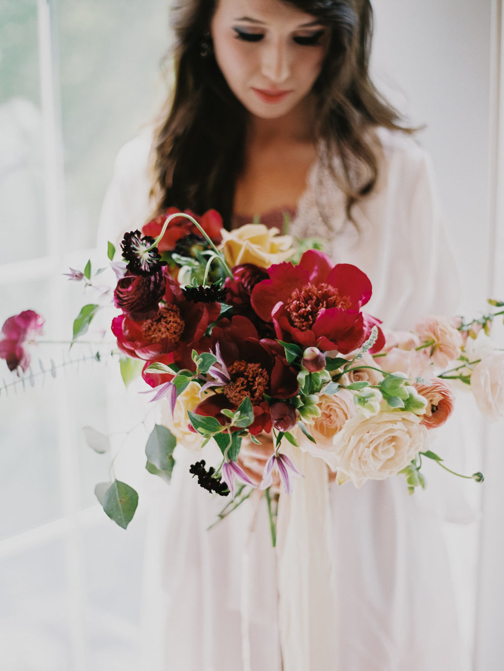 whimsical bride's bouquet