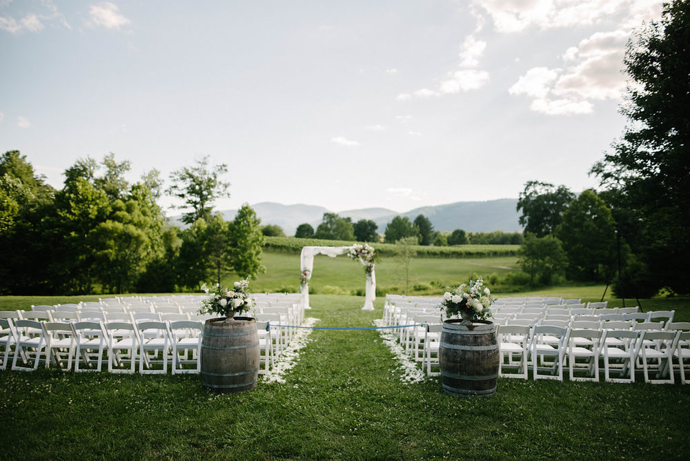 Vineyard Wedding Ceremony