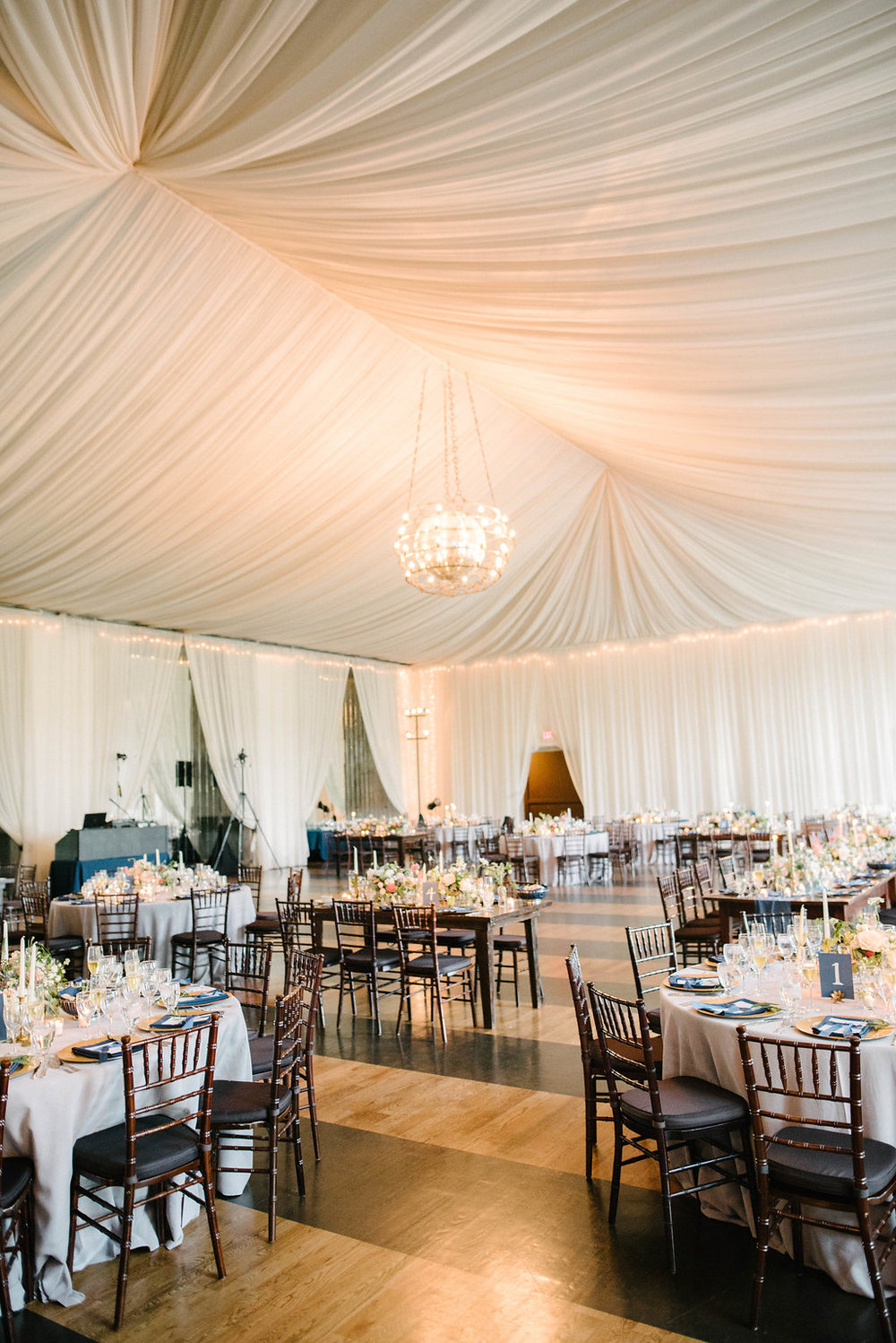 draping reception