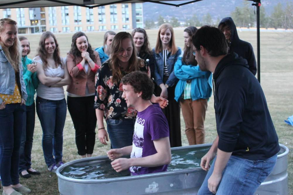 Pierre's baptism!