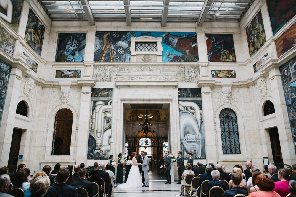 Detroit Institute of Arts Wedding