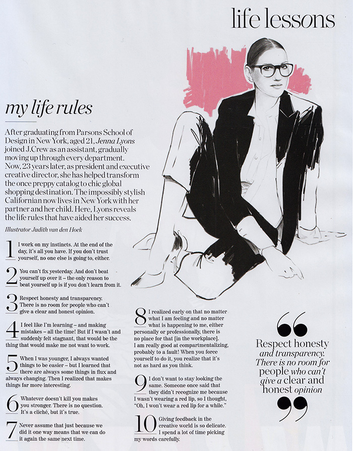 Life Lessons With Jenna Lyons