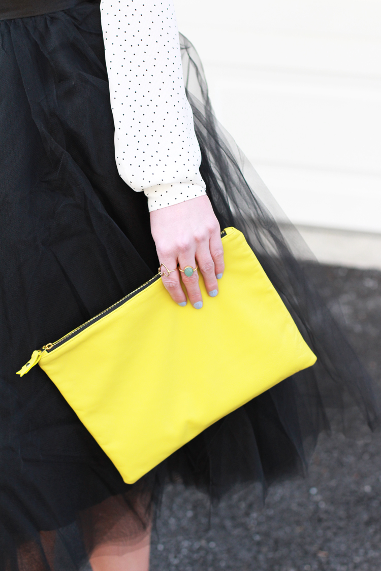 Neon Clutch
