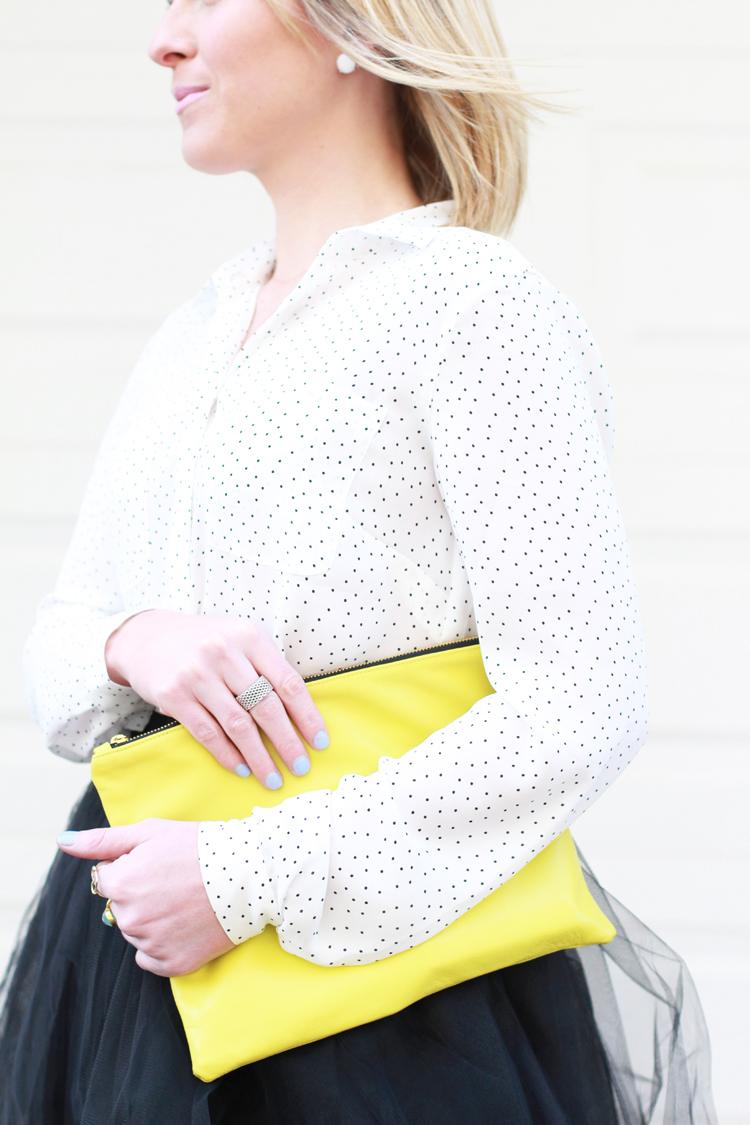 Polka Dots & Tulle Skirt