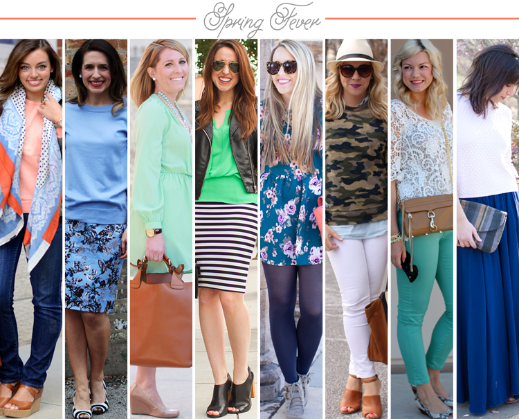 Bloggers Who Budget: Spring Fever