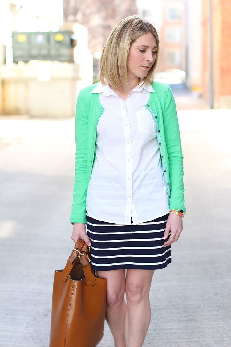 Spring Outfit Idea: Nautical Style