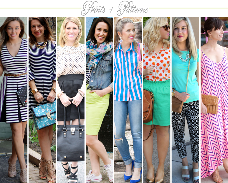 Bloggers Who Budget: Prints & Patterns