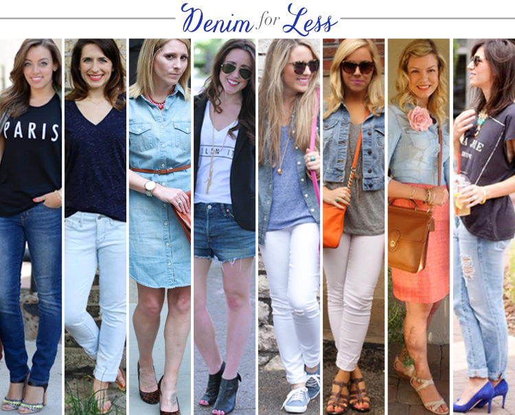 Bloggers Who Budget: Denim for Less
